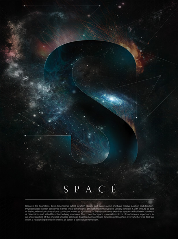 Space for Space poster design